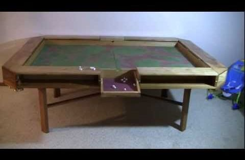 Gaming Table   Complete   YouTube (plans In The Comments)