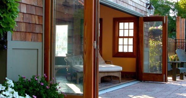 Turn Your Cottage Into A Luxury Retreat Exterior Sliding Glass Doors Custom Wood Doors Residential Doors