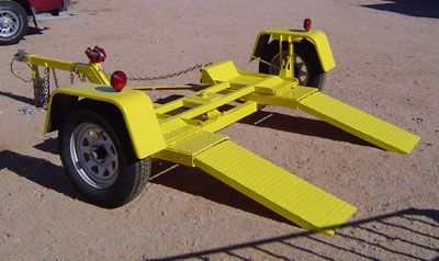 CAR VEHICLE RECOVERY TOW TOWING A FRAME PLANS TO BUILD TOWING DOLLY