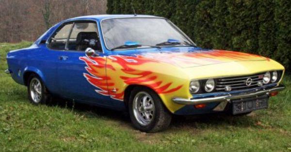 Opel Manta A Vehicles Car