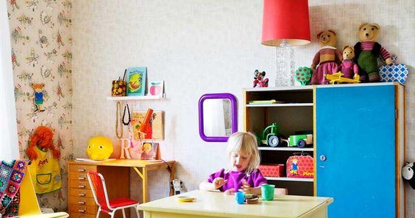 Banderines de tela en habitaci n infantil ideas para - Habitacion infantil nino ...