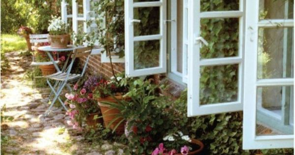 cottage garden window