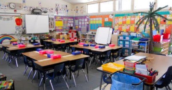 Classroom Setting Ideas ~ Possible desk arrangement classroom set up ideas