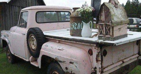 Pink Truck Pink Pink Truck Vintage Pink Vintage Trucks