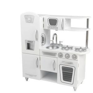 Kidkraft White Vintage Kitchen Playset 53208 The Home Depot Kidkraft Vintage Kitchen Kidkraft Kitchen Vintage Kitchen