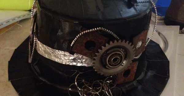 Duct Tape Top Hat Ii With Real Moving Parts
