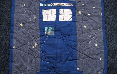 Dr. Who Mini Quilt