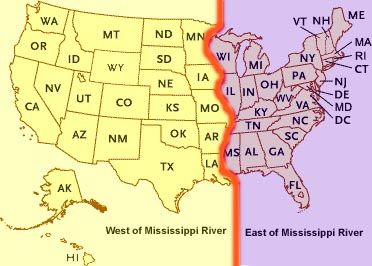 Usa Map Mississippi River | World Map Interactive ...