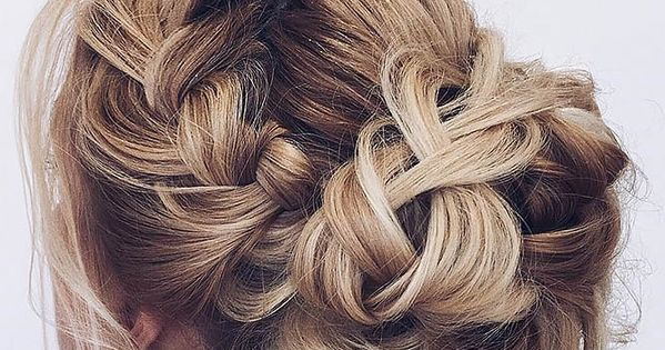 35 Wedding Updo Hairstyles For Long Hair From Ulyana Aster: Gallery: Braided Wedding Hair Updo Ideas Via Ulyana Aster