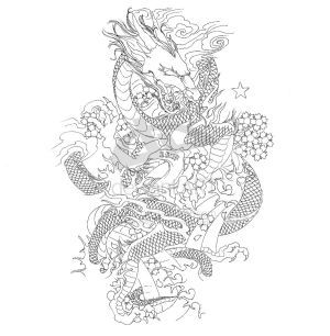 Art Japanese Dragon Tattoo Designs Picture Gallery Japanese Dragon Tattoo Japanese Dragon Tattoos Dragon Tattoo Outline