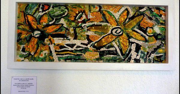 Les Expos De L Ete 2 Ann Lascaux Et Kathleen Leroy Mosaic Tiles Mixed Media