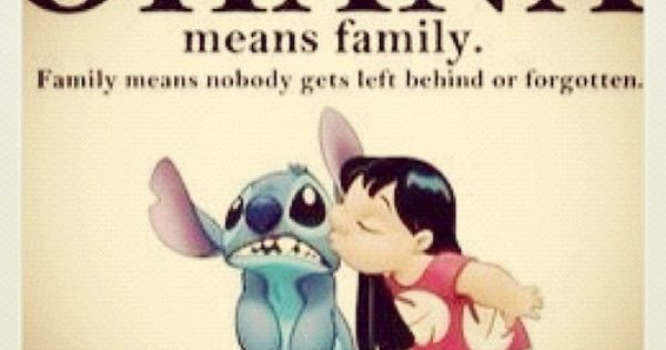 family------ one of my favorite Disney Movies!!!