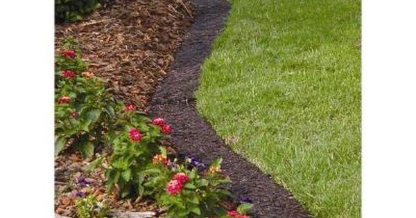 Vigoro Landscaping Edging : Easy gardener ft brown lawn edging border eb hd at