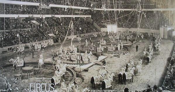 Ringling 1920 At Madison Square Garden Hagenbeck Wallace Circus Pinterest Madison Square