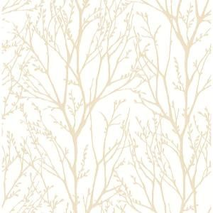 Kenneth James Autumn Copper Tree Copper Wallpaper Sample 2671 22443sam The Home Depot Silver Tree Wallpaper Farmhouse Wallpaper Tree Wallpaper