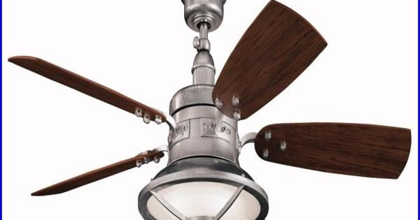 Outdoor Ceiling Fans Galvanized Nautical Decor