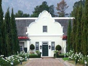 French Style Architecure House Plan South Africa Dutch House Cape Dutch Dutch Gardens