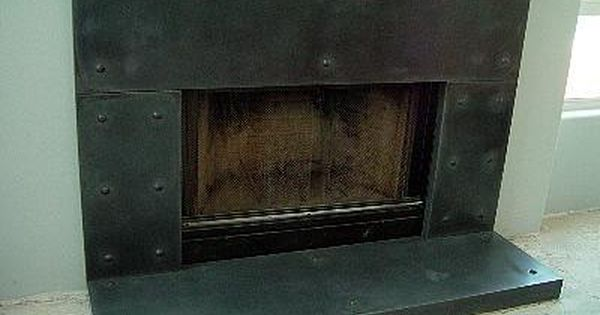 Metal Looking Slate Fireplace Surrounds California Concrete