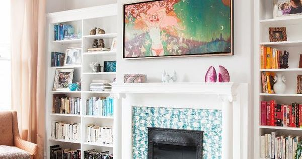 Artworks Fireplaces And Victorian Living Room On Pinterest