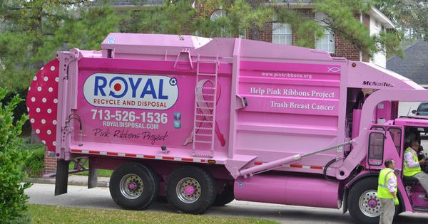 Pink Garbage Truck N Craig Mickel Save The Boobies Pinterest Garbage Truck Pink Pink Pink And Pinky Pinky