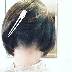 ダサい から一転 新常識のトレンド おかっぱボブ は刈り上げで垢抜け Hair アンダーカットボブ おかっぱ おかっぱ ボブ
