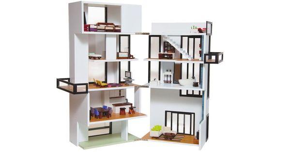Modern Model Bennett House | AHAlife True-to-life Model Dollhouse. Inspired by Gerrit