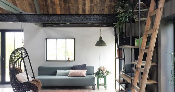 Wooninspiratie schommel manman architecture pinterest for Interieur huiskamer