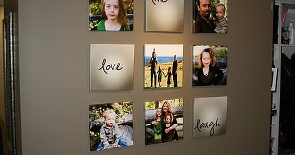 Beautiful Family Picture Wall Idea home-decor. I really like this bc Live Love Laugh is our living room theme. I so wanna do this in my house