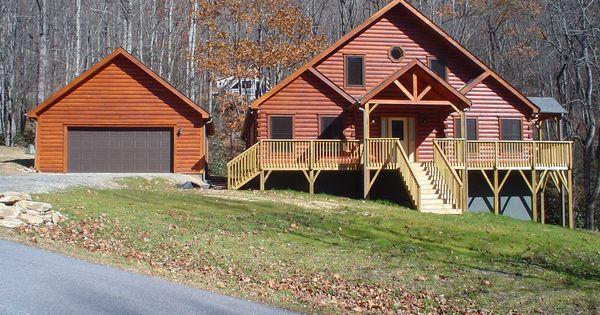 Banner elk log cabin dream log cabin pinterest blue for Banner elk home builders