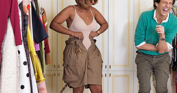 Inside Gayle King's Closet Makeover Scene
