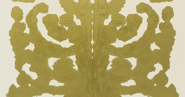 ANDY WARHOL, RORSCHACH 1984: part of a series of almost 40 paintings