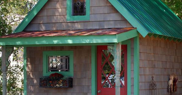 9 Whimsical Garden Shed Designs Storage Shed Plans