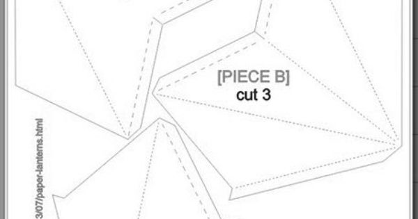Diy paper star lanterns with free cutting file and pdf for Paper star cut out template