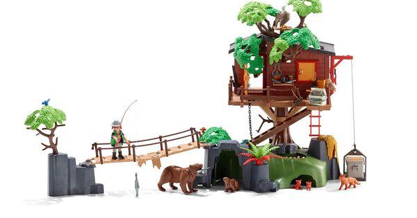 Casa del rbol de aventuras 5557 playmobil espa a i want a hippopotamus for christmas - Casa del arbol playmobil 5557 ...