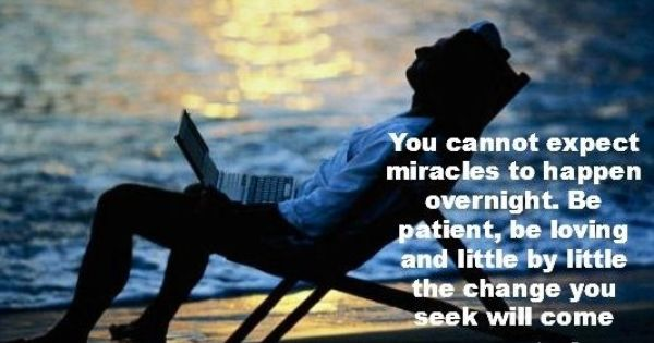 Miracles Don T Happen Overnight Quote Via Www Facebook Com