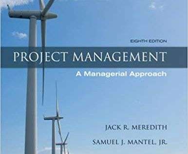 Test Bank For Project Management A Managerial Approach 8th Edition Meredith Isbn 10