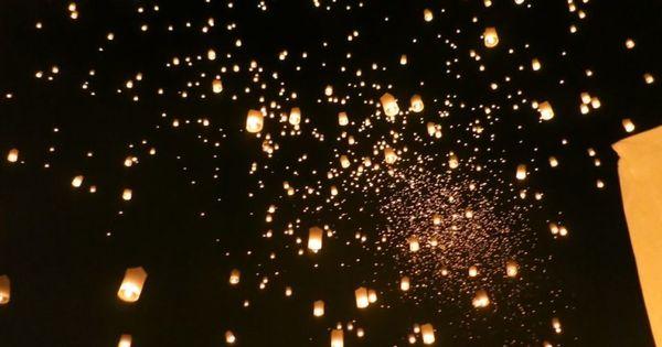 flying lanterns how to make