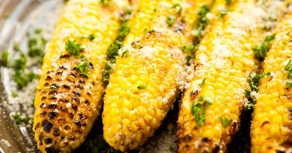 parmesan garlic grilled corn - Recipes/ Dinner | Pinterest - Parmezaan ...
