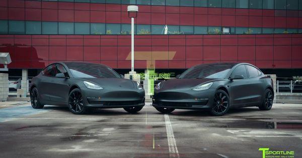 Matte Black Vs Satin Black Tesla Model 3 Which Would You Choose Tesla Model Matte Black Cars Matte Cars