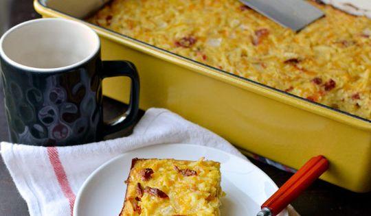 Cheesy potatoes, Breakfast casserole and Casseroles on Pinterest
