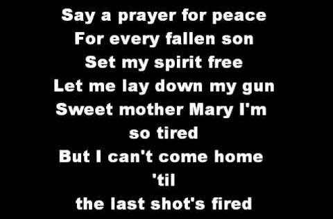 Til The Last Shot S Fired Lyrics By Trace Adkins Youtube Fire Lyrics Country Music Lyrics Last Shot
