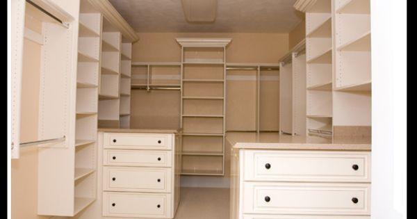 Walk-In double Closet
