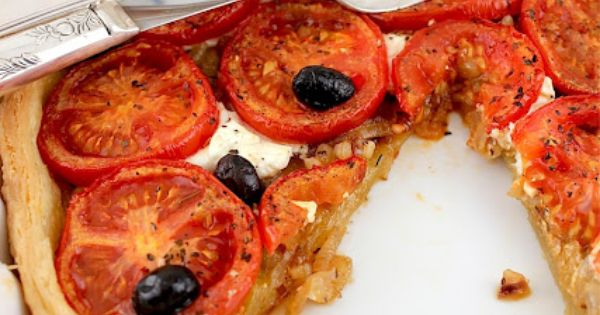 CARAMELIZED ONION AND TOMATO TART - Lifesafeast | Feeder | Pinterest ...