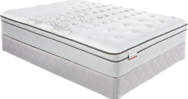 shop for a sealy posturepedic peach blossom low profile queen mattress set at rooms to go find. Black Bedroom Furniture Sets. Home Design Ideas