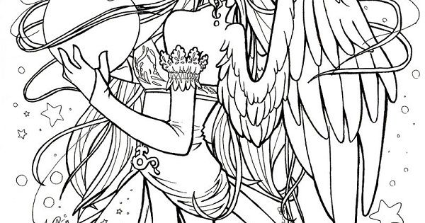 gothic fairies coloring pages coloring pages pinterest gothic fairy fairy coloring pages. Black Bedroom Furniture Sets. Home Design Ideas