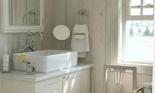 Cottage Bathrooms Vessel Sink And Medicine Cabinets On Pinterest