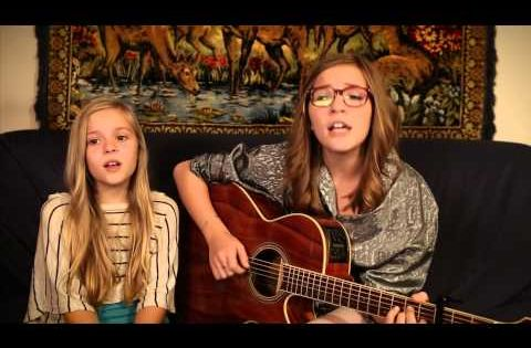Lennon and Maisy are two sisters with INCREDIBLE talent from right here