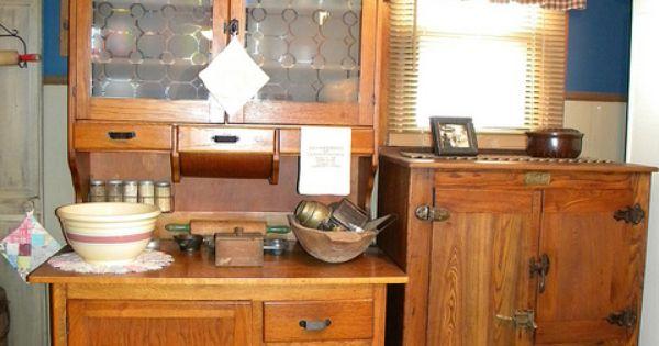 1905 ideal cabinet company vincennes ice chest nostalgic kitchen charm pinterest. Black Bedroom Furniture Sets. Home Design Ideas
