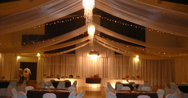 Wedding reception decoration transforming a cultural for Fitness depot wedding