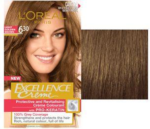 L Oreal Paris Excellence Creme Permanent Hair Colour Cabello Dorado Cabello Colores De Pelo